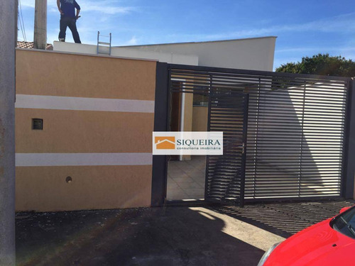 Casa Residencial À Venda, Jardim Nova Ipanema, Sorocaba. - Ca0411