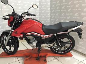Honda Cg 160 Titan 2019 Vermelha Flex