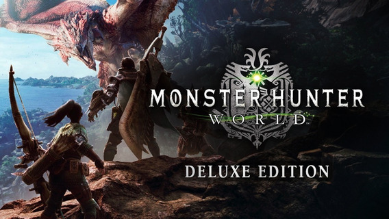 Monster Hunter World Deluxe Edition Original Steam Online