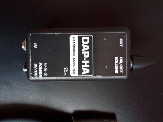 Amplificador De Fones Dap-ha Slim
