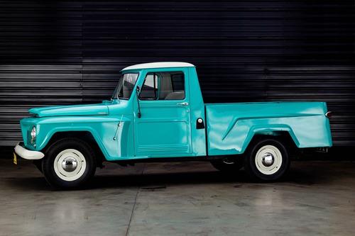 Imagem 1 de 6 de 1962 Ford Rural Willys Pickup