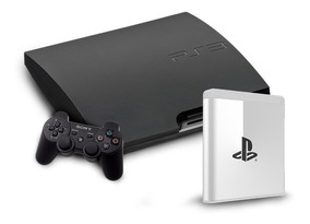 Sony Playstation 3 Slim Seminovo - 1 Controle