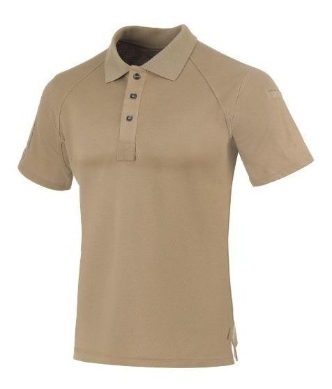 Camisa Polo Control Invictus Caqui Militar Original C/nota