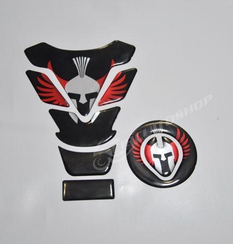Protetor Adesivo Tanque Tankpad + Bocal Moto Honda Fan 125