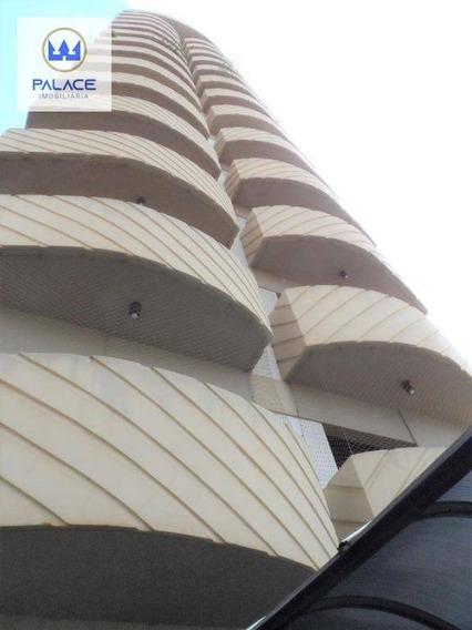 Apartamento Com 3 Dormitórios À Venda, 122 M² Por R$ 480.000 - Centro - Piracicaba/sp - Ap0092