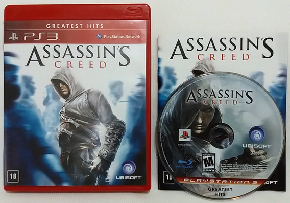 Assassins Creed Playstation 3 Ps3 Frete C Desc*