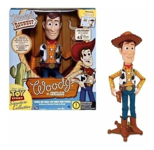 Woody Toy Story Muñeco Vaquero 45 Frases Disney Pixar