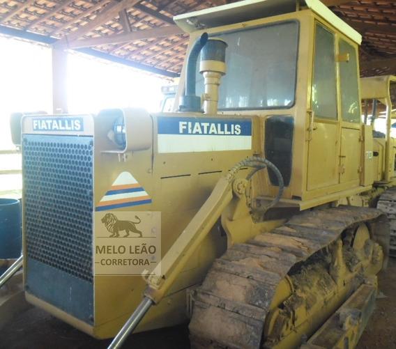 Trator De Esteira Fiatallis 7d - Ano 1996 - 2º Dono