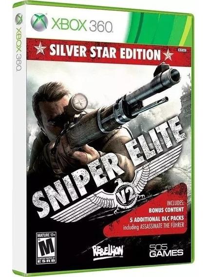 Jogo Xbox 360 Sniper Elite V2 Silver Star Edition Lacrado