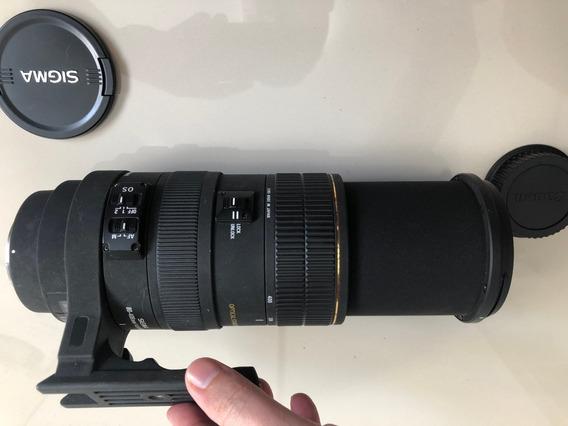 Lente Sigma Af 80-400mm F/4.5-5.6 Ex Apo Os - Com Detalhes