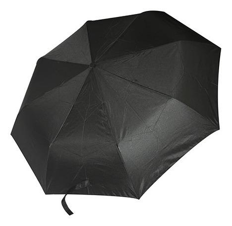 Paraguas Pongee 190t Diametro 98cm (negro Solido)