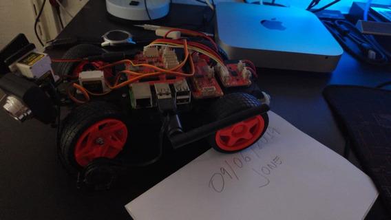 Robô Inteligente Carrinho Raspberry (não Inclui Board Pi)