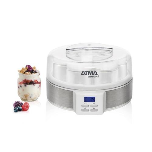 Yogurtera Atma Lcd Y Timer Digital 7 Frascos Apuntar