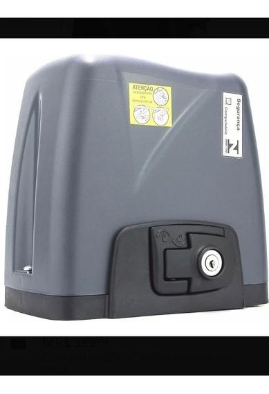 Kit Motor Portão Eletrônico Deslizante Automatizador