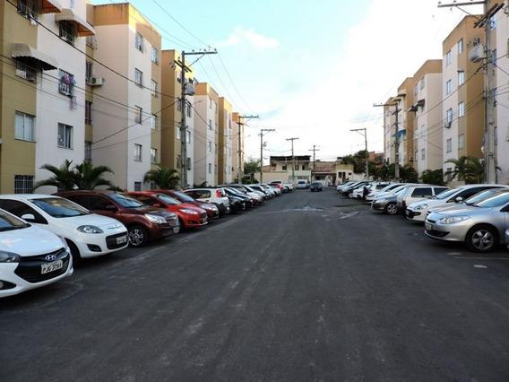 Apartamento Com 2 Quartos Para Comprar No Bairro Do Natal Em Camaçari/ba - 310