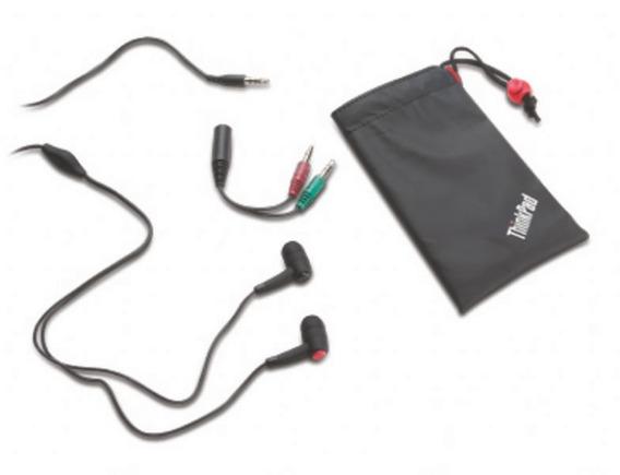 Kit 5 Fone De Ouvido Thinkpad 57y4488 Preto In-ear