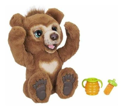 Furreal Cubby, El Curioso Oso De Peluche Interactivo, De 4 A