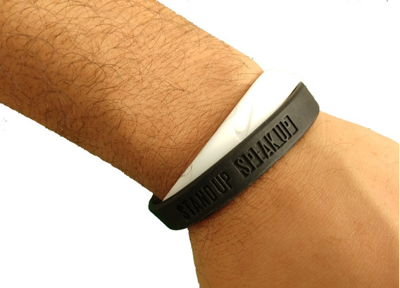 Pulseira Nike Satnd Up Speak Up 18cm (pequena)