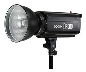 Flash Tocha Profissional Godox Dp600w P/ Estúdio 110v Nfe