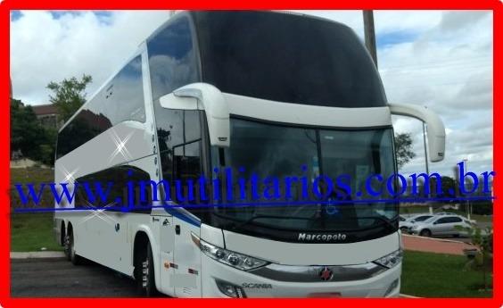 Paradiso Dd 1800 G7 Ano 2016 Scania K400 42 Lug Jm Cod.43