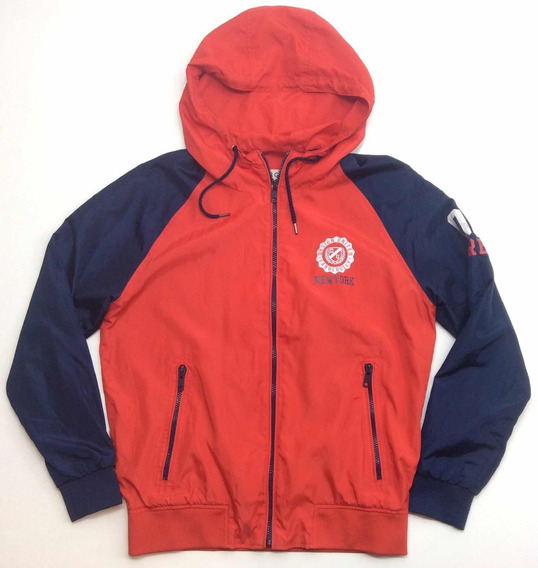 Campera Deportiva Rompeviento Hombre Talle M