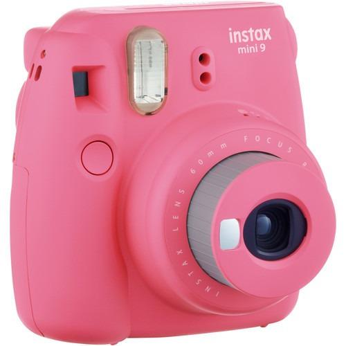Camera Instax Mini 9 Instantanea Rosa Flamingo