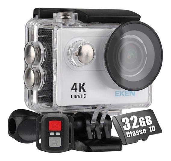 Câmera Eken H9r Controle Bike 4k Wifi Filmadora+ Cartão 32gb