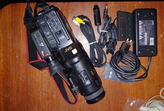 Filmadora Vhs-c Jvc Videomovie Modelo Gr-323u