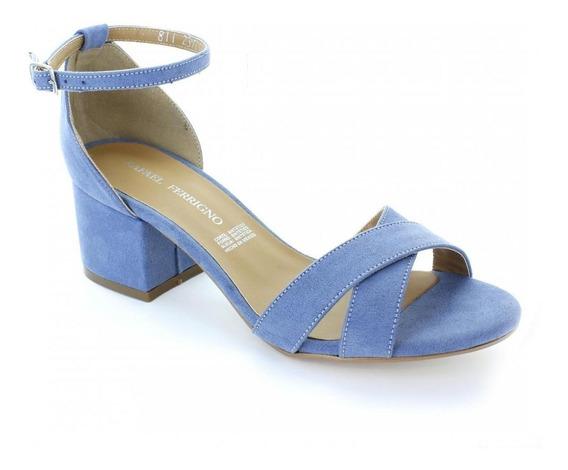 Zapatilla Para Mujer Rafael Ferrigno 811-036344 Color Azul