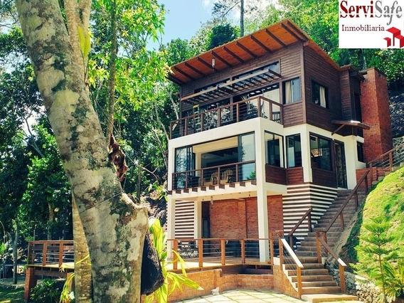 Vendo Hermosa Villa En Jarabacoa, Totalmente Amueblada