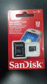 Cartão De Memoria Sandisk - 32gb