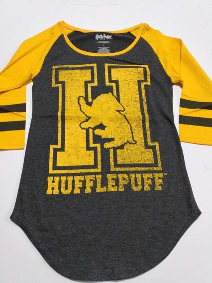Playera Hufflepuff Harry P Hot Topic Original