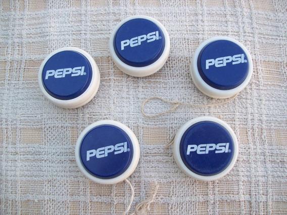 Yo-yo Vintage De Pepsi . Plástico Duro . Por Unidad