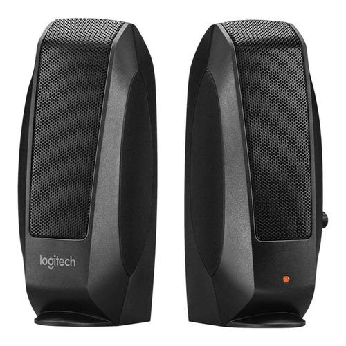 Parlante Logitech S120 black