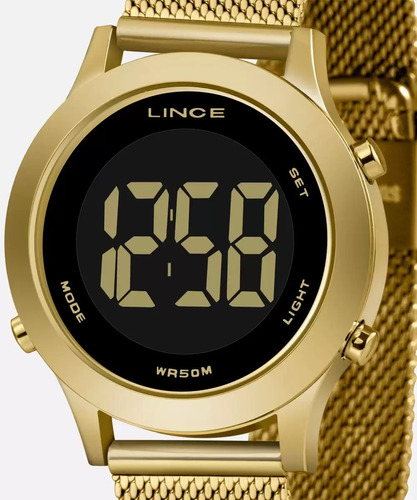 Imagem 1 de 7 de Relógio Feminino Lince Digital Sdph110l Pxkx