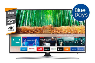 Televisor Samsung Smart Tv 55p Led Uhd 4k Mu6100