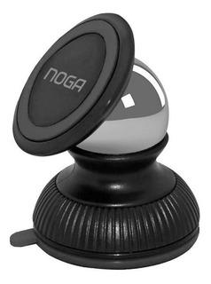 Soporte Magnetico Noganet Hold08 P/smart Celular Gps Tablet Sopapa Navegación Rotacion 360