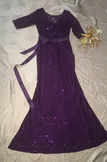 Vestido De Gala Mujer O Vestido Fiesta Elegante