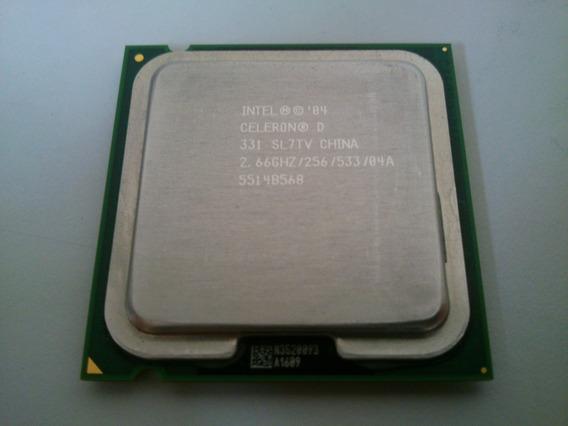 Processador Intel Celeron D 331 Cache 2.66ghz Sl8h7