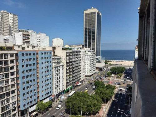 Copacabana, 3q Suítes, 140m², Frente, Praia, 1 Vaga, Perto Do Metrô ! - Ldap30036