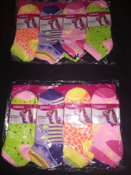 Pack Super Oferta!!medias Soquetes Mujer X 3 Docenas