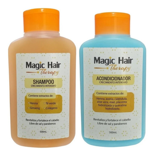 Magic Hair Shampoo Y Acondicionador C - - mL a $32