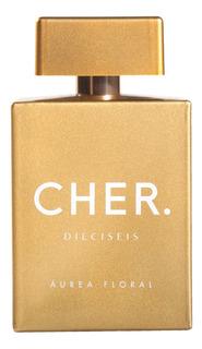 Perfume Mujer Cher Dieciseis Áurea Floral 100 Ml