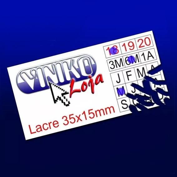 2000 Lacres Casca Destrutível Ovo 3,5 X 1,5 Cm Frete Grátis