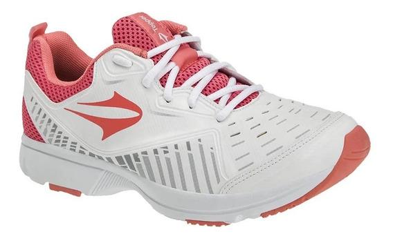 Topper Zapatillas Running Mujer Boro Blanco - Rosa