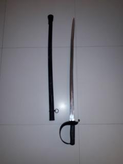 Espada De Oficial Exército Argentino Banhada E Prateada