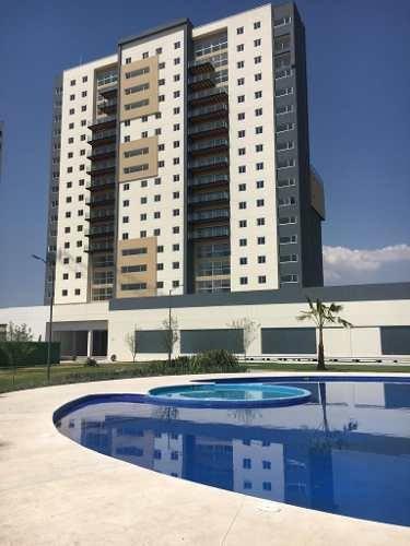 Departamento Amueblado En Biosfera Towers Juriquilla, 3 Recs
