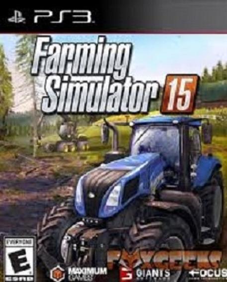 Farming Simulador 2015 Ps3 Psn Garantia