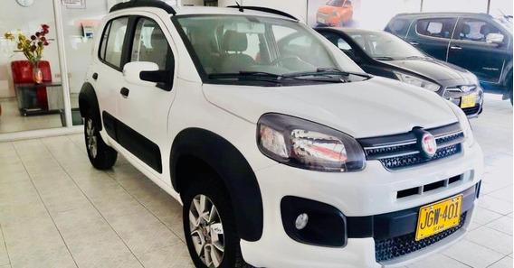 Fiat Uno Way, 1,400, Full, Blanco 2020
