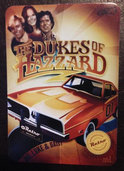 Postal Publicitaria De La Serie De Los Duques De Hazzard